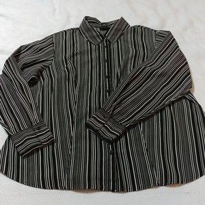 East 5th LS button down dress shirt 1X